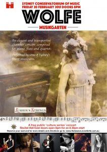 Conservatorium poster Lushousstrings